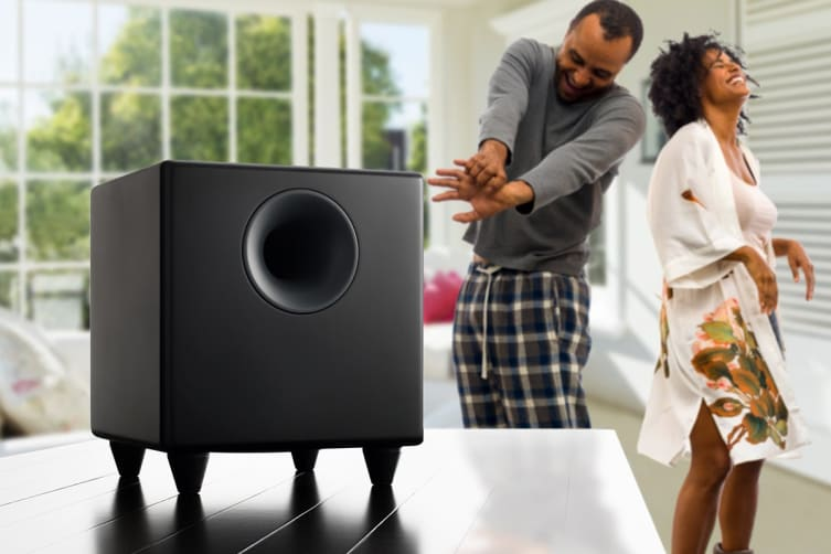 Audioengine 5+ Wireless Powered Speakers Pair with Subwoofer - Satin Black