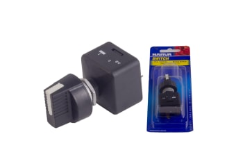 NARVA 15A AMP 12V VOLT ON OFF ROTARY SWITCH BATTERY ACCESSORY MASTER POWER NEW