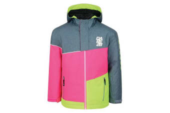 Dare 2B Kids/Childrens Debut Ski Jacket (Astro Blue/Cyber Pink) (15-16 Years Old)