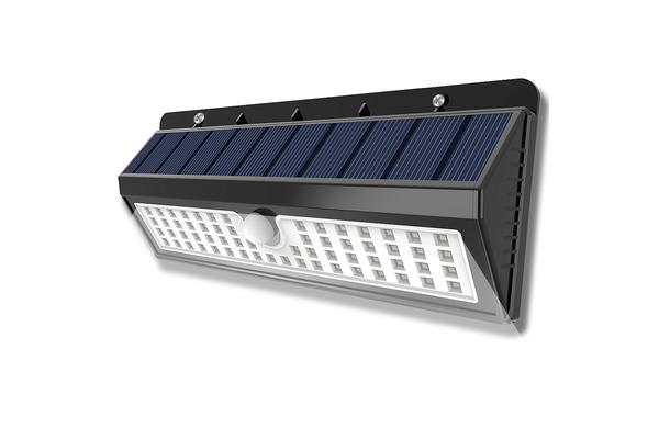 90LEDs Solar Powered Wireless Motion Sensor Light