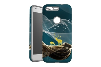 For Google Pixel Case  Protective Back Cover  Magical Deer