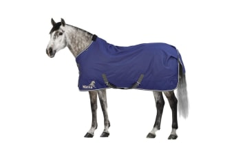 Masta Avante 170g Standard Neck Turnout Rug (Navy Blue) (5 ft 6)