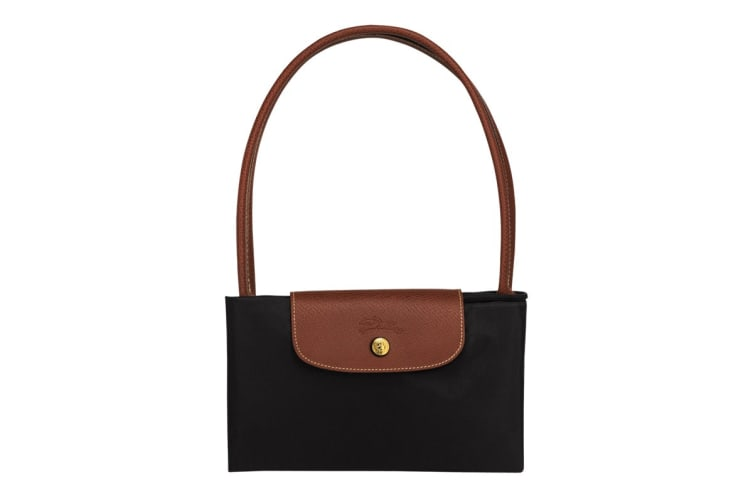 Longchamp Le Pliage Tote Bag (Large, Black)