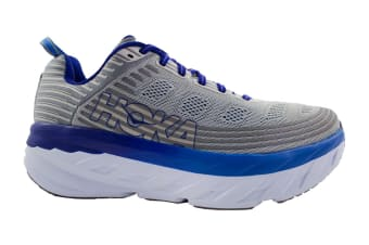 Hoka One One Men's Bondi 6 Running Shoe (Vapor Blue/Frost Grey)