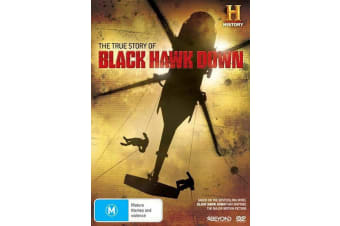 True Story Of Black Hawk Down, The - DVD Region 4 Free Shipping!