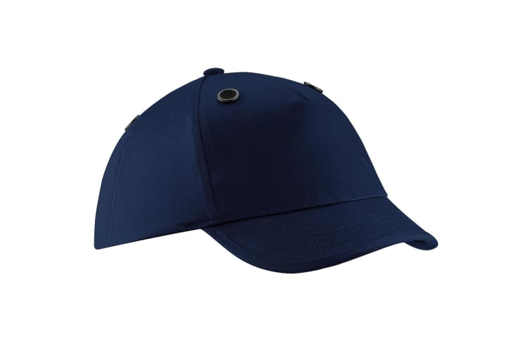 Beechfield Coolmax® En812 Bump Baseball Cap / Headwear (French Navy) (One Size)