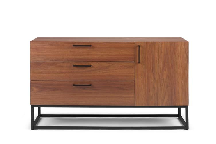 Shangri-La 3 Drawers Buffet - Dobson Collection (Walnut)