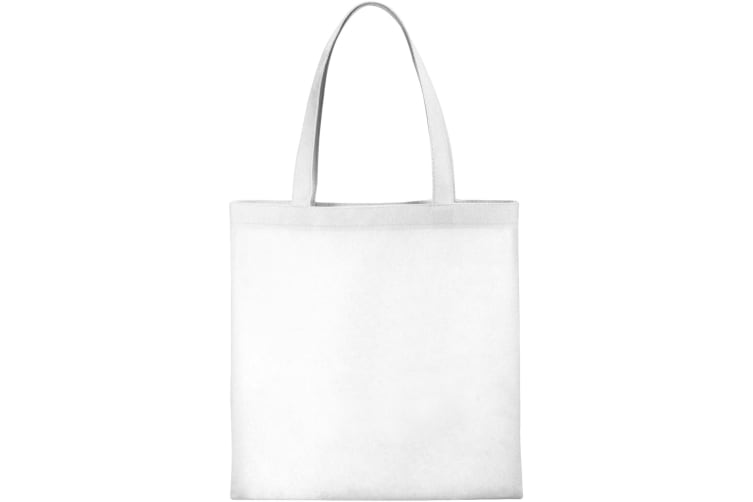 Bullet The Non Woven Small Zeus Convention Tote (White) (One Size)