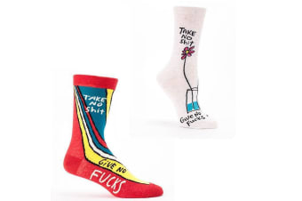Socks For People Who Don`t Give A F#ck - Men`s size 7-12