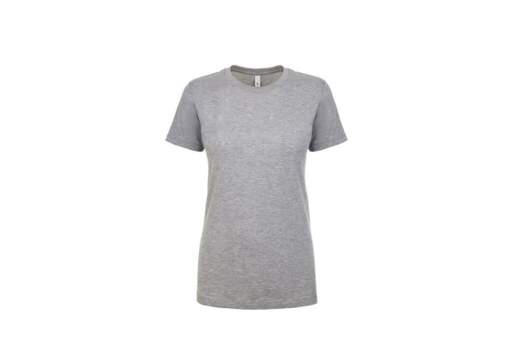 Next Level Womens/Ladies Ideal T-Shirt (Heather Grey) (S)