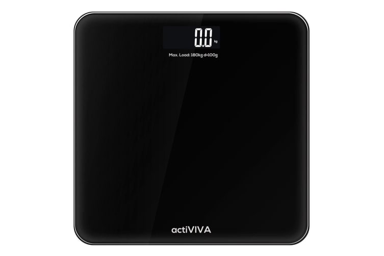 mBeat actiVIVA Voice/Talking Digital LCD Display Bathroom Scale Vision-Impaired