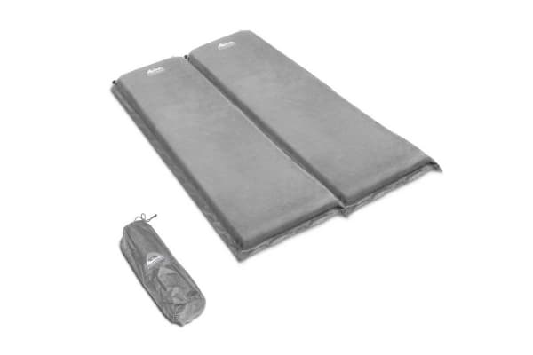 Self Inflating Mattress Double 10cm (Grey)