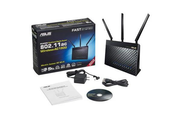 ASUS Wireless AC1900 Concurrent Dual Band Multifunctional Wireless Router (RT-AC68U)