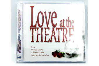 Love at the Theatre BRAND NEW SEALED MUSIC ALBUM CD - AU STOCK