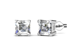 Splendid Stud Earrings Embellished with Swarovski crystals