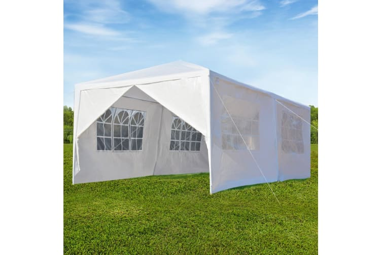 OGL 3x9M Outdoor Party Wedding Tent Canopy Gazebo with 6 Removable Walls