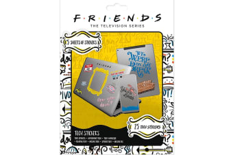 Friends Tech Stickers (Multicoloured) (One Size)