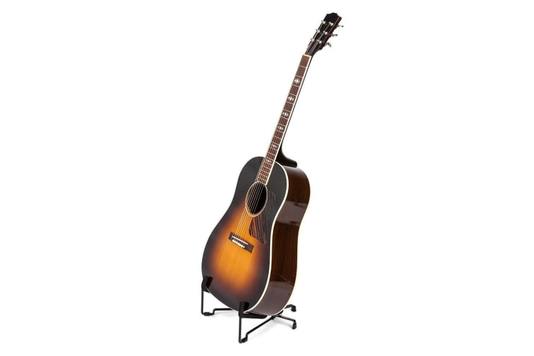 Hercules Travlite Acoustic Guitar/Vihuela Foldable Stand/Floor Rack Holder Black