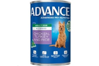 Advance Adult Chicken Turkey Rice Cans - 12cans