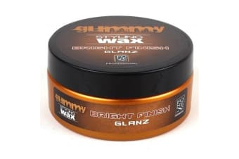 Gummy Hair Styling Wax Bright Finish 150ml