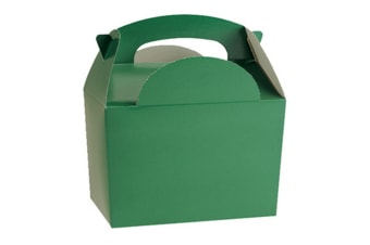 Colpac Party Boxes (Pack Of 50) (Green) (One Size)