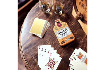Whisky Lover`s Illustrated Playing Cards
