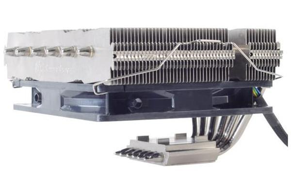 Silverstone NT06 v2 PRO Low Profile CPU Cooler, Compatible 2011, 2066, 1150, 1151, FM2, AM4. Height 82mm. 33.62 - 73.969 CFM