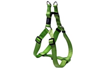 Rogz Utility Step-In Harness Lime - XL
