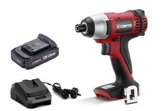 Certa PowerPlus 18V Cordless Impact Driver Pack