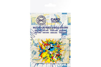 DC Comics Official Character Travel Card Wallet (Multicoloured) (One Size)