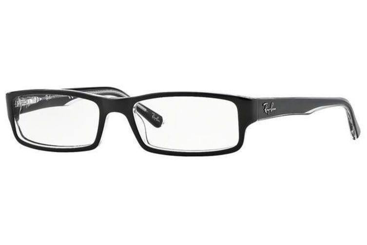 Ray Ban RX5246 2034 Black Transparent Mens Womens Glasses