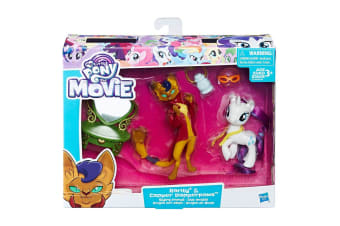 My Little Pony Rarity & Capper Dapperpaws Styling Friends Set