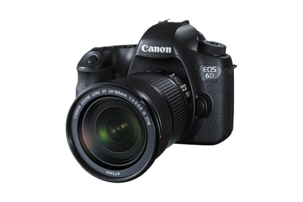 Canon EOS 6D DSLR Camera with EF 24-105mm IS STM Lens