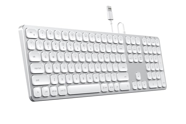 Satechi Wired Keyboard for Mac (Silver)