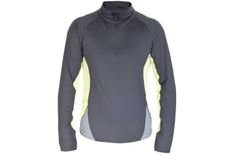 Trespass Mens Wrestle Active Base Layer Top (Flint)