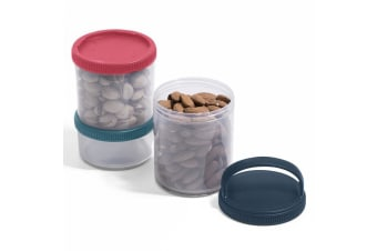Russbe Triple Container Stack Snack Bento 620ml