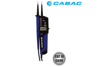 CABAC DIGITAL VOLTAGE TESTER CATIV 600V