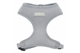 Hip Doggie Ultra Comfort Harness Vest (Silver Grey)
