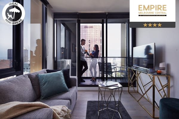 MELBOURNE: 4 Night Escape in a Two Bedroom Executive Apartment