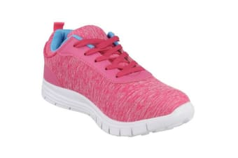 Airtech Womens/Ladies Casual Trainers (Pink Synthetic)