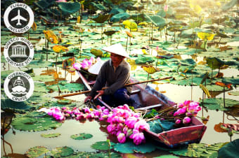 VIETNAM: 8 or 11 Day Vietnam Highlights Tour Including Flights for Two
