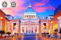 EUROPE: 20 Day Europe Discovery Tour Including Flights for Two