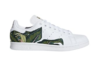 Adidas Originals x THE FARM Company Women's Stan Smith Shoes (White/Gold, Size 4.5)