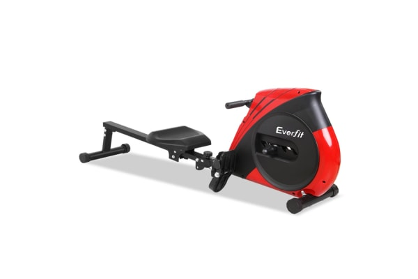 Rowing Machine with Elastic-Rope System