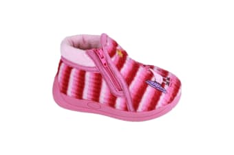 Mirak Safari Childrens Unisex Slippers (Pink) (25 EUR)