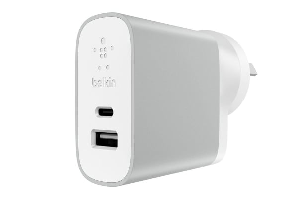 Belkin USB-C and USB-A Home Charger (F7U011bgSLV)