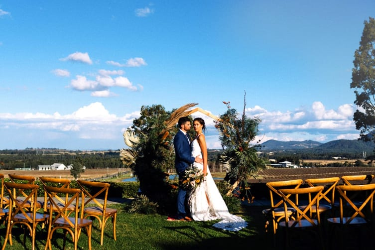 HUNTER VALLEY: Award-Winning Luxury Wedding Package at Estate Tuscany, Pokolbin NSW (30 Guests)