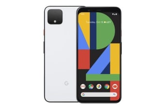 New Google Pixel 4 XL 128GB 6GB RAM 4G LTE Smartphone Clearly White (FREE DELIVERY + 1 YEAR AU WARRANTY)