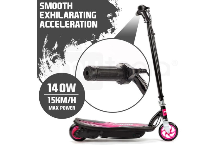 BULLET ZPS Kids Electric Scooter 140W Children Toy Pink Girls Battery Ride