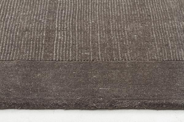 Cut and Loop Pile Rug Grey 280x190cm